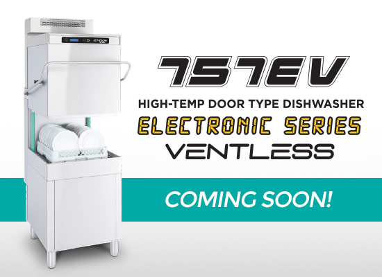 Jet-Tech 757EV Door Type Dishwasher