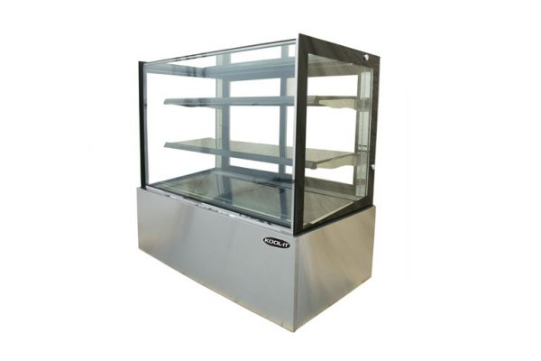 Kool-It KBF Series | Flat Glass Display Case