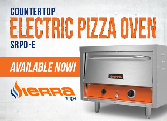 Sierra Countertop Electric Pizza Oven