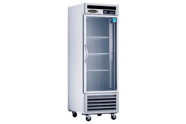 Reach in Bottom Mount Series - Glass Door Refrigerators