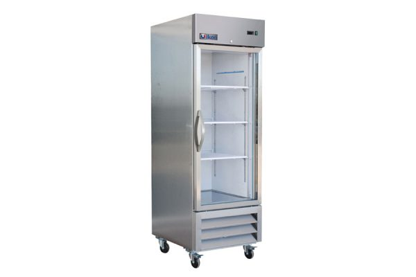 IB27RG Single Glass Door Bottom Mount Refrigerator