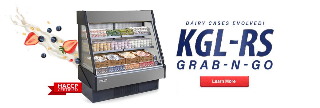 KGL-RS Grab-n-Go Dairy Merchandiser